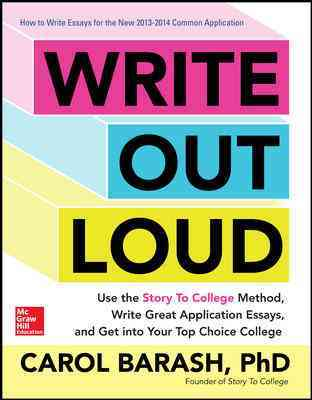 Write Out Loud By Barash, Carol